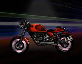 #11 cho Colouring, painting on the sketch of a motorcycle. bởi oaseqomaravw