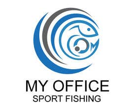 #68 for MY OFFICE SPORT FISHING LOGO by shakilhd99