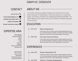 Nro 24 kilpailuun Create Resume Templates käyttäjältä yeadul