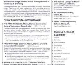 Nro 25 kilpailuun Create Resume Templates käyttäjältä dinesh1995bhakar