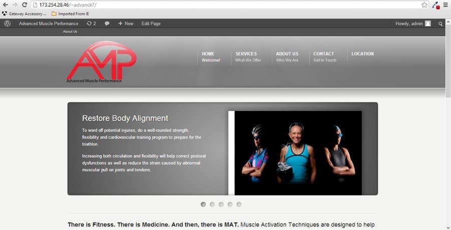 Penyertaan Peraduan #181 untuk Graphic Design for Advanced Muscle Performance