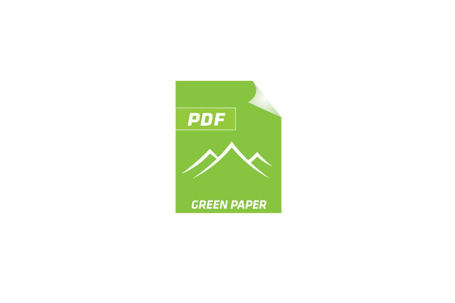 #166 for Logo Design for Green PDF Paper by CTLav