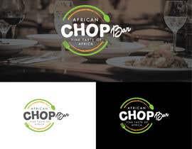 "Nro 9 kilpailuun I need a logo for my restaurant business.  The name of the restaurant is ""African Chop Bar"". And the motto is ""Fine taste of Africa"" käyttäjältä sharminbohny"