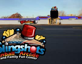 #76 para Logo Design for Slingshots Pinball Arcade and Family Fun Center por rogeliobello