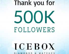 """#542 for """"THANK YOU FOR 500,000 FOLLOWERS!"""" Instagram Graphic!! by webdizanet"""