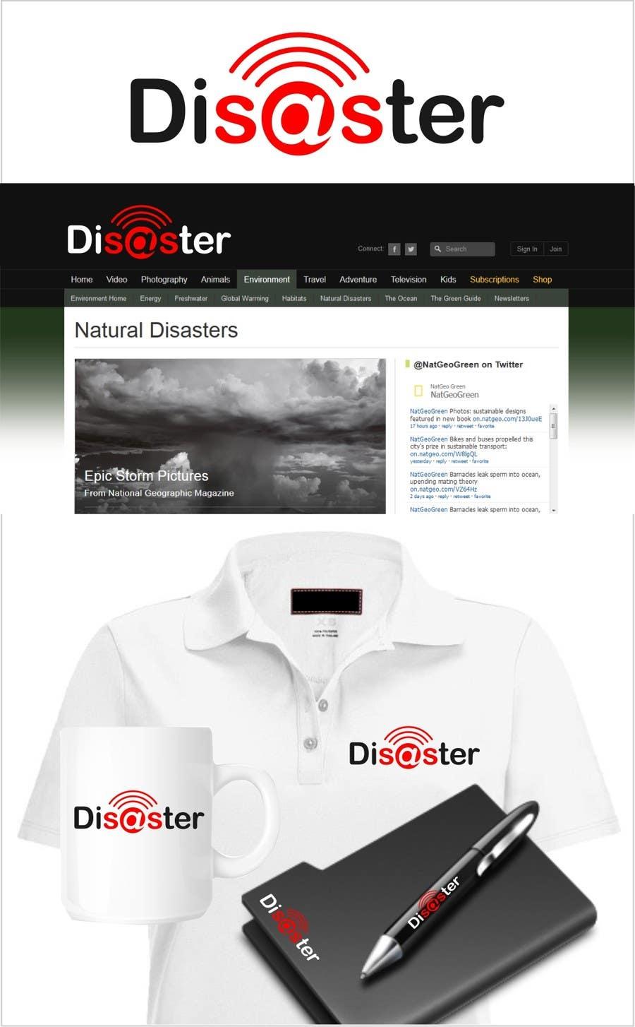Penyertaan Peraduan #192 untuk Logo Design for Disaster.Com - Giving Back to the Community