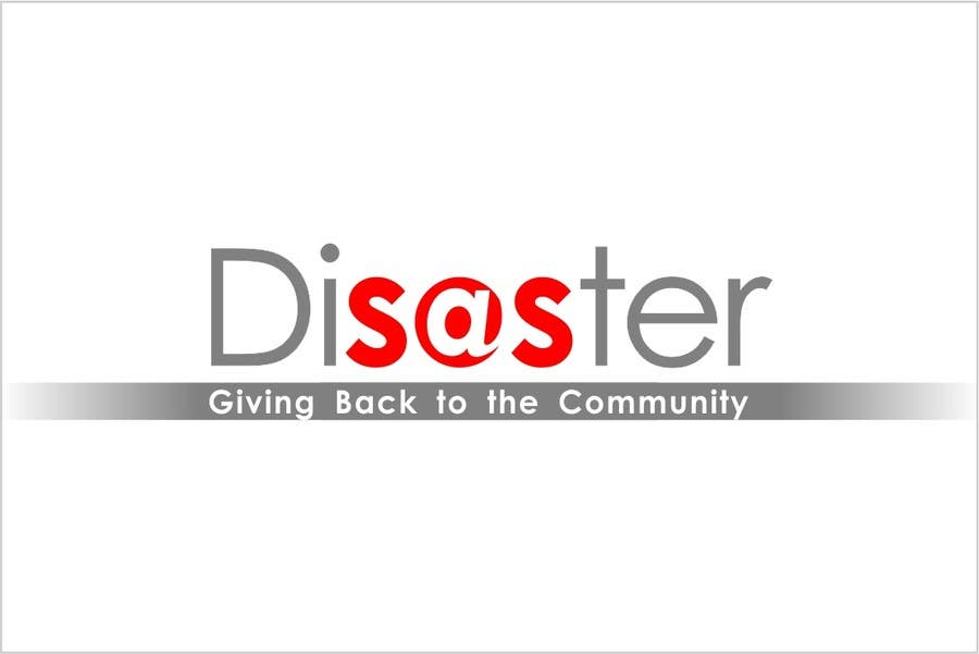 #144 for Logo Design for Disaster.Com - Giving Back to the Community by lastmimzy