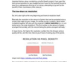 """#9 for Write an article titled """"Determining the Right Resolution for Your Home Theater Projector"""" by kimkrgreen"""
