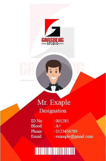 Contest Entry 4 For Plastic Company ID Card With Photo Design