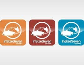 #61 cho Logo Design for In Size Seven (shoes) bởi jummachangezi