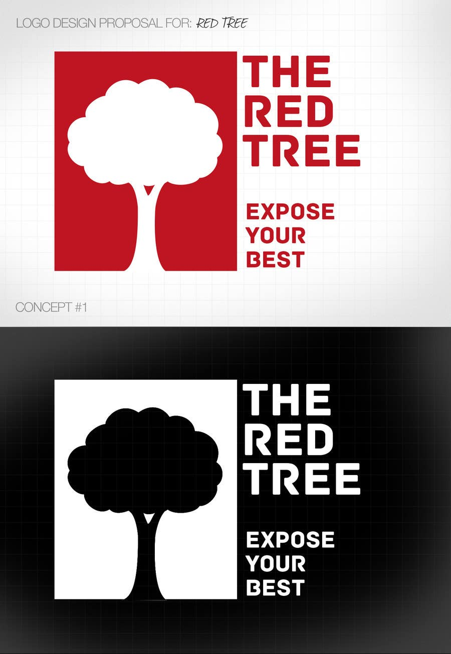 #959 for Logo Design for a new brand called The Red Tree by LunaNokto