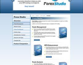 nº 27 pour Website Design for Forex Studio product page par anjaliarun09