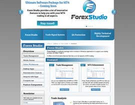 nº 43 pour Website Design for Forex Studio product page par anjaliarun09
