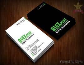 #27 untuk Business Card Design - Alexpert oleh Niyonbd