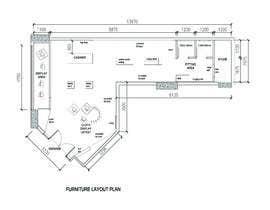 #14 for Design interior furniture layout for ladies clothes store by sukinahmahmud