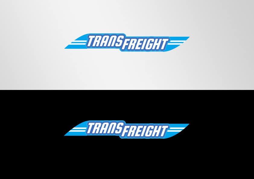 Kilpailutyö #                                        56                                      kilpailussa                                         Graphic Design for Transfreight