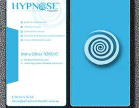 #151 untuk Business Card Design for HYPNOSIS oleh anistuhin