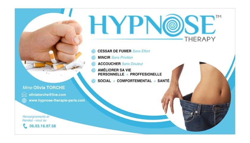 Entry 142 By Dylan1230 For Business Card Design For Hypnosis
