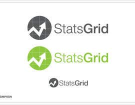 #170 cho Logo Design for StatsGrid bởi nathansimpson