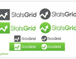 #177 cho Logo Design for StatsGrid bởi nathansimpson