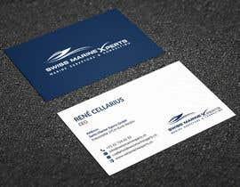 #830 for Design von Visitenkarten (Design Business Card) by rtaraq