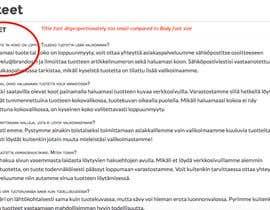 #7 for Website bug hunt and UX testing (brandos.com) by eveliinakorhonen