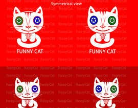 #28 for Funny Cat Logo redesign by ZDesign4you