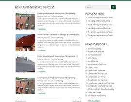 Nro 47 kilpailuun Design a website for a danish company käyttäjältä obizzy