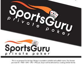 Nambari 21 ya Design a logo for SportsGuru Private Poker na bpsodorov