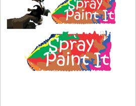 """Nambari 2 ya A logo to represent what we do . We are called """"Spray paint it"""" We spray paint upvc windows, doors, conservitories, kitchens to any ral colour, on site na artworkguru"""