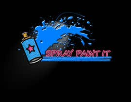 """Nambari 3 ya A logo to represent what we do . We are called """"Spray paint it"""" We spray paint upvc windows, doors, conservitories, kitchens to any ral colour, on site na anamulhaq81"""