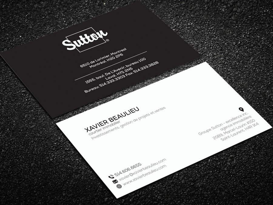 entry 285 by shariotbd for business card real estate broker 2