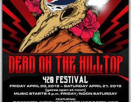 Nambari 80 ya 420 Deadhead Concert Poster design needed na tmaclabi