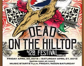 #123 for 420 Deadhead Concert Poster design needed by tmaclabi