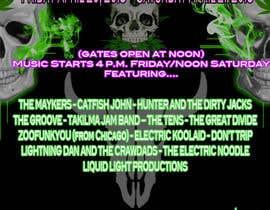 Nambari 127 ya 420 Deadhead Concert Poster design needed na shamandelarea