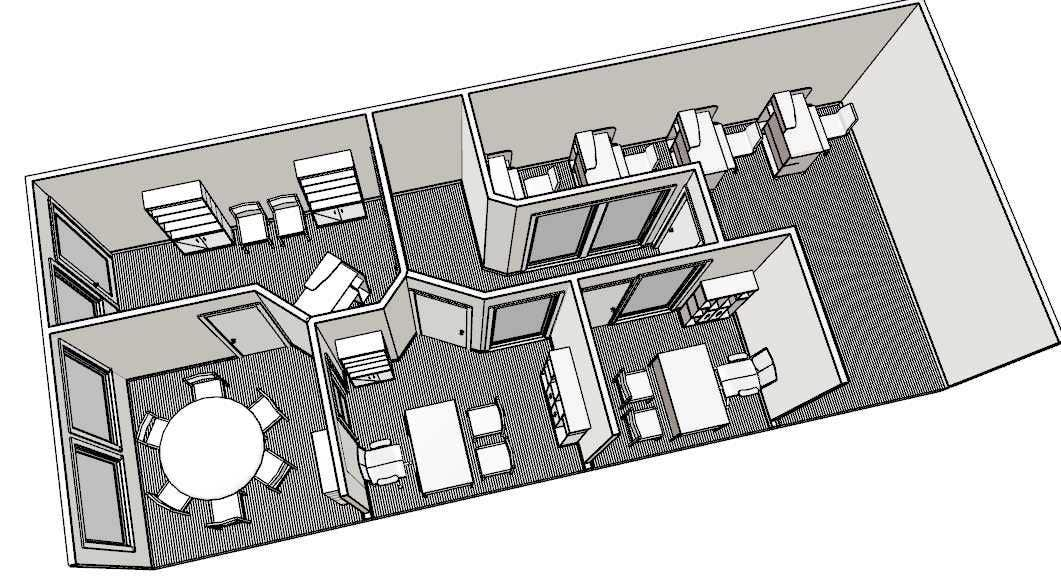 Floor Plans For Physical Therapy Clinic: Entry #1 By Ronaaron2 For Design Interior Furniture Layout