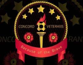 Nambari 18 ya Football (Soccer) Logo for a USA military veterans football team na AponGomes