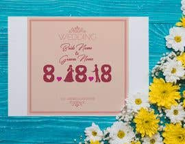 #40 for Design a Logo for a wedding invitation by nashid1234
