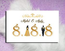 Nambari 45 ya Design a Logo for a wedding invitation na zahra0501