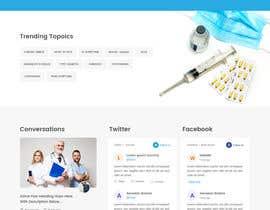 Nambari 78 ya Redesign this home page based on the brief provided na zaxsol