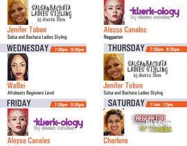 Nambari 7 ya Design a weekly schedule na Ashik0682