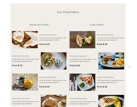 Nambari 15 ya A Website for Restaurant -- 2 na minhajulfaruquee