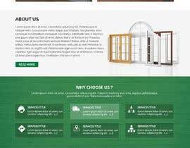 #16 for Build windows and doors company website by WebCraft111