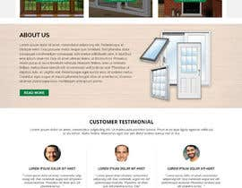 #18 for Build windows and doors company website by WebCraft111