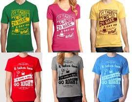 #11 para Make 2 Variations Of T-Shirt Design por feramahateasril