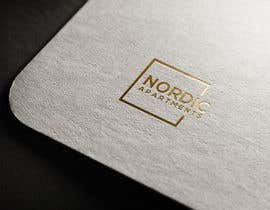 #70 for Design a logo for Nordic Apartments in Reykjavik by AliImam10