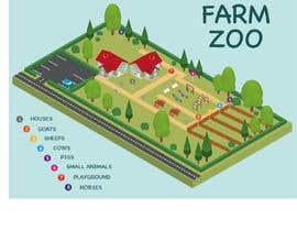 Nambari 10 ya Make a friendly map of a petting zoo na javiermc66