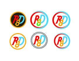 Nambari 128 ya RD8 Logo design na webshohagh