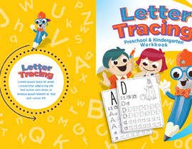 #33 for Letter Tracing for Kids Book Cover by r063rabad