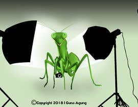 #4 for I  need an artist to take this poor excuse of a image and create a version that looks like a praying mantis with camera and lights for a logo. I need a dng file and vector version by GunaAgung06